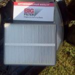 Замена салонного фильтра на Приоре