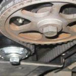 Замена ремня ГРМ на 8-ми клапаном моторе